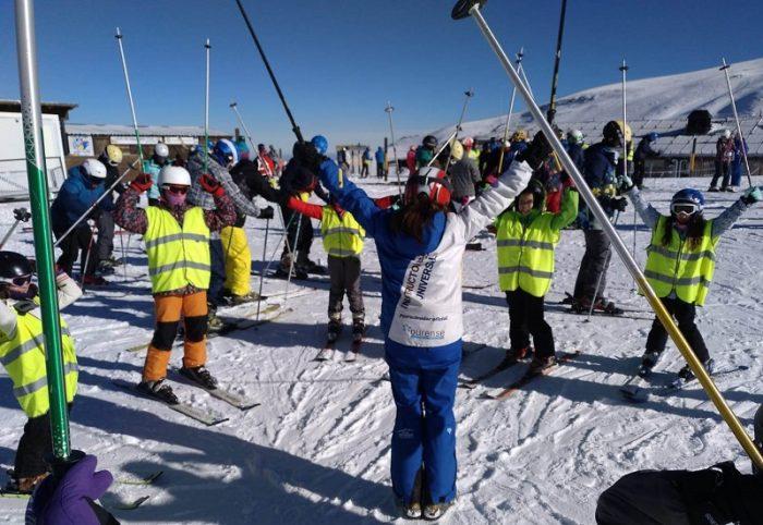 curso de esquí en Sierra Nevada