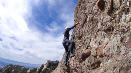 Rock climbing Barcelona