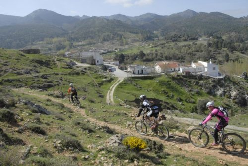 Bicicleta de montaña Sierra Nevada Alpujarras