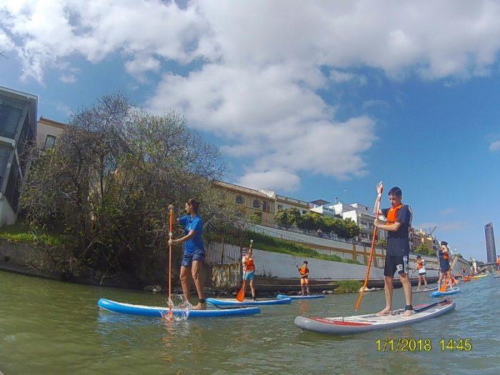 alquila tu paddle surf o kayak y recorre el río Guadalquivir con itinerarius.com