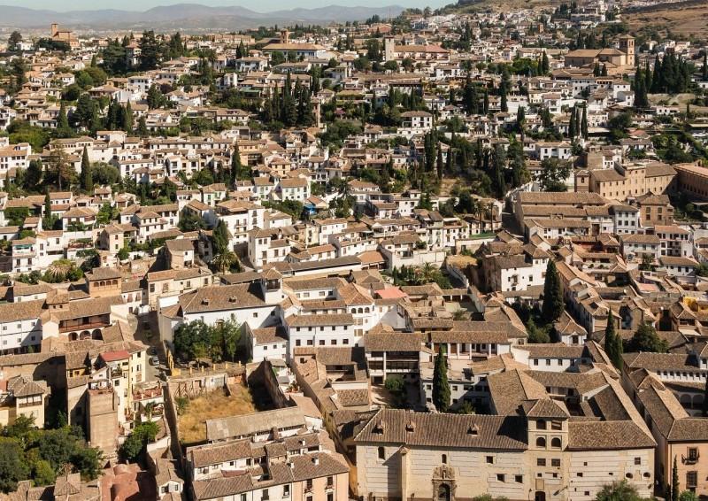 route of secrets and legends of the neighborhoods of Albayzín and Sacromonte de Granada with itinerarius.com