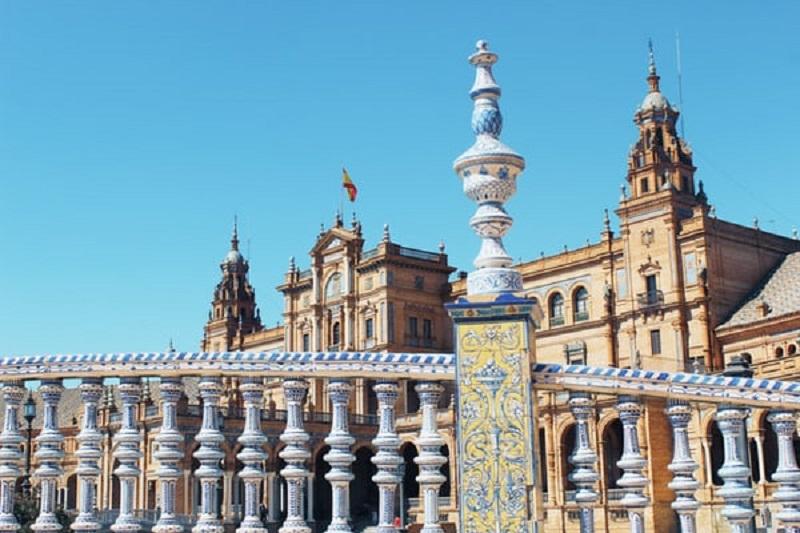 Plaza de España en Sevilla
