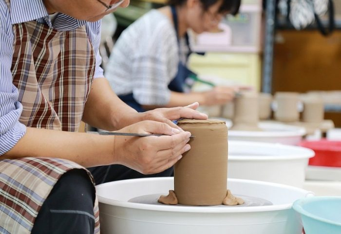 pottery course in Granada
